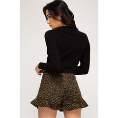 Lillie Leopard Shorts