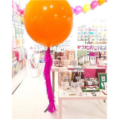 Frilly Balloon Tassel