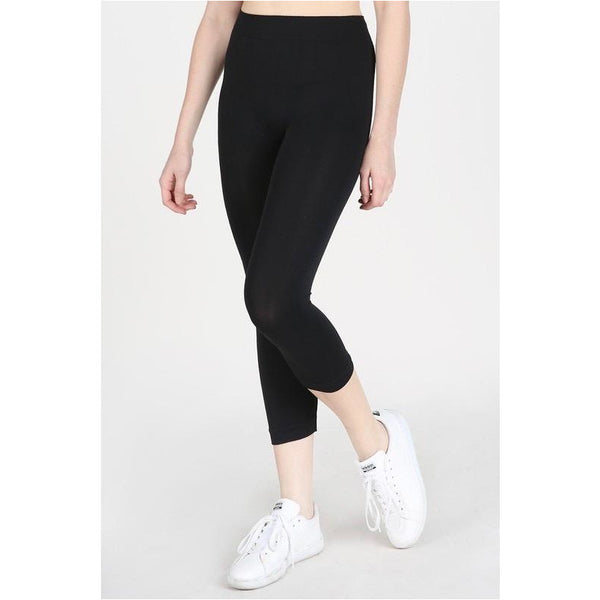 Curvy Bird Capri Leggings