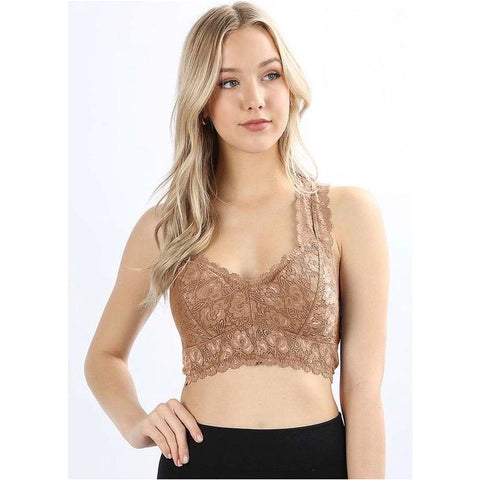 Lace Bralette with Pads