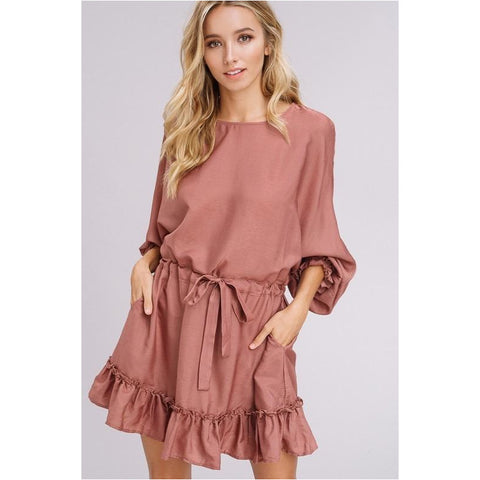Brooks Bell Sleeve Dress