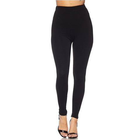 Stay Fit Black Leggings