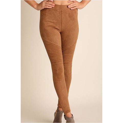 Belview Suede Leggings