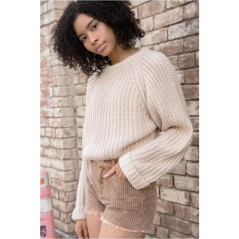 Angora Turtleneck Poncho