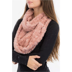 Bubbled Infinity Scarf