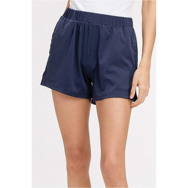 Crew Shorts In Navy