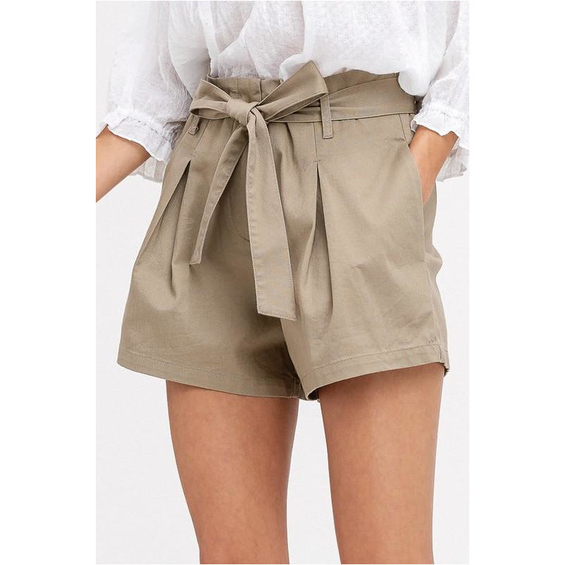 I Finally Made It Shorts In Khaki