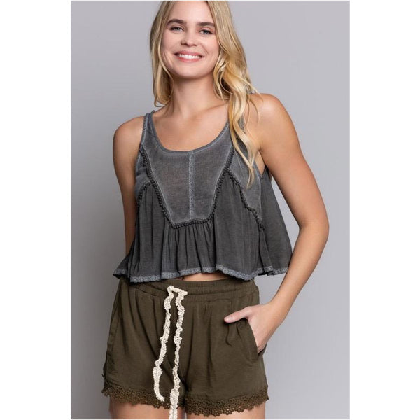 Olivia Cropped Tank