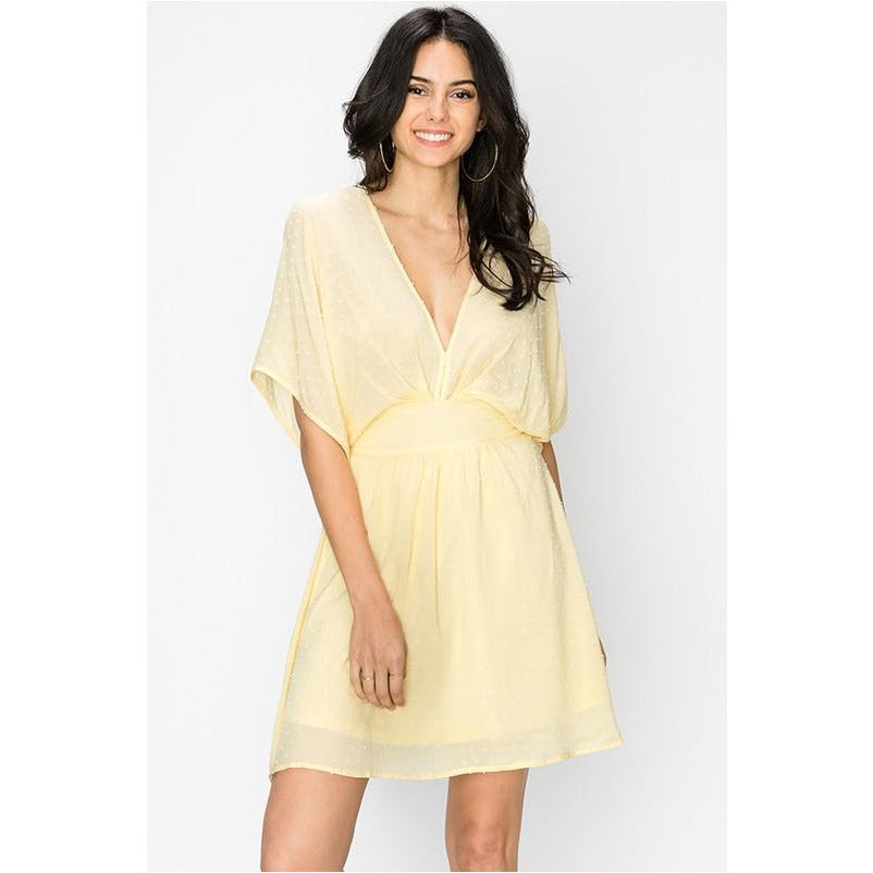 By Faith Dress In Yellow