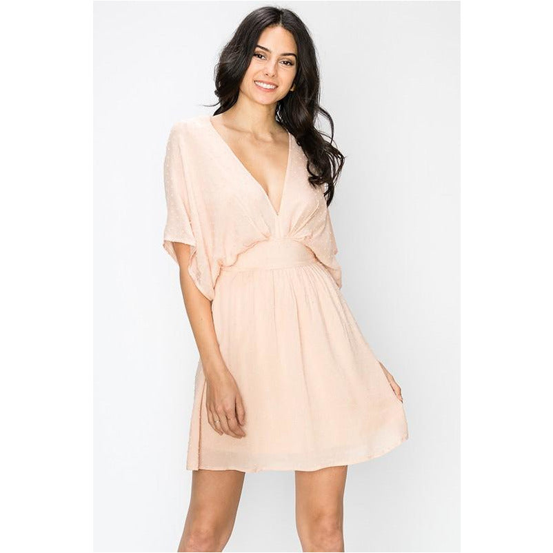 By Faith Dress In Blush