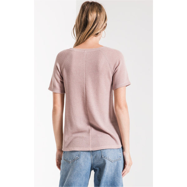 Z Supply The Breezy Rib Layering Tee