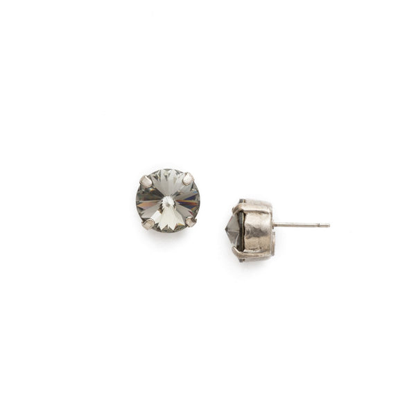 Sorrelli Round Crystal Stud Earrings