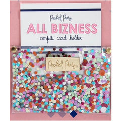 Confetti Card Holder