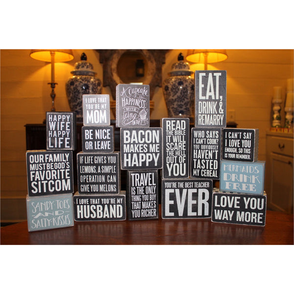 wooden signs with cute sayings - Wooden Signs With Sayings