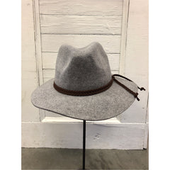 Nash Wool Hat in Grey