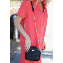 Elise Quilted Crossbody