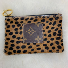 Refurbished Louis Vuitton Cowhide Keychain Wallet