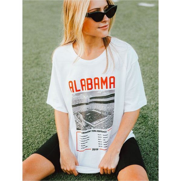 Alabama Stadium Schedule Tee