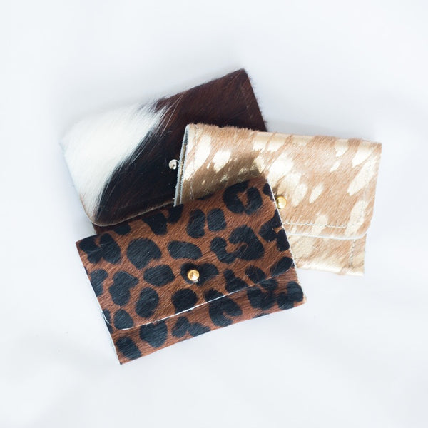 Beaudin Small Cowhide Wallet