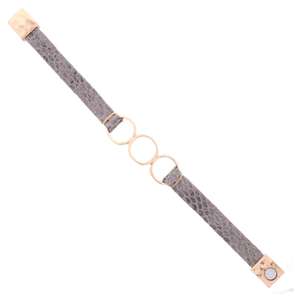 Jane Marie 3 Ring Magnetic Bracelet