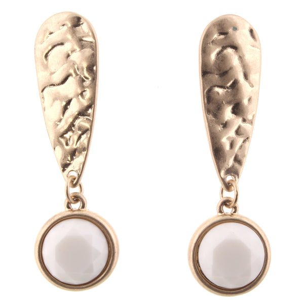 Jane Marie Upside Down Teardrop Earrings