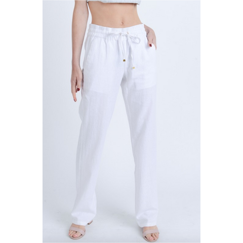 Articles of Society Carly Cannes Skinny Crop Jeans in White