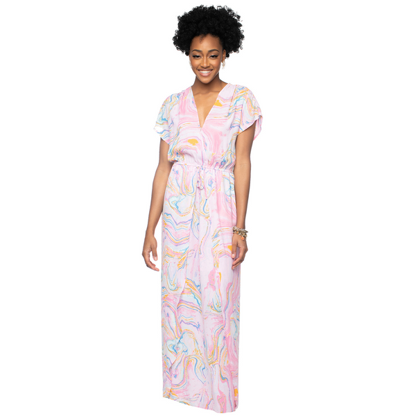 Buddy Love Natalie Maxi Dress in Glass