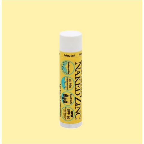 The Naked Bee Zinc Sunscreen Lip Balm