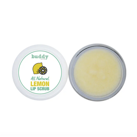 Buddy Scrub Lemon Lip Scrub