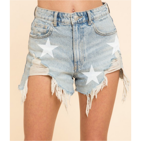 Palmilla Chambray Shorts