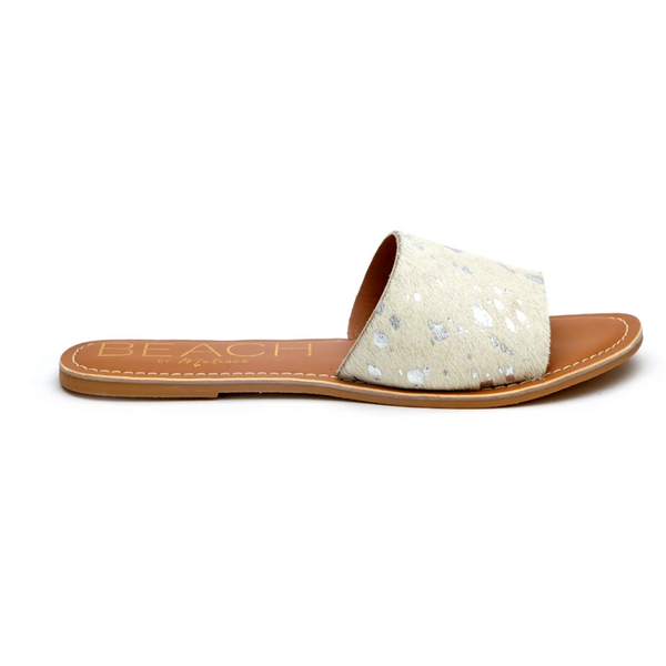 Cabana by Matisse in Silver Spot/Cowhair