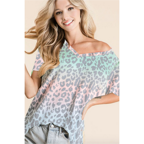 Buddy Love Muse Kenya Tie Top
