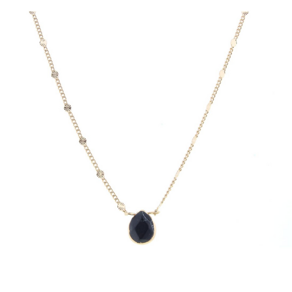Semi-precious Stone Short Necklaces