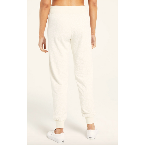 Z Supply Ava Leo Jogger in Bone