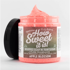How Sweet It Is Whipped Soap with Raw Sugar