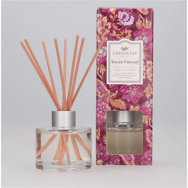 Tuscan Vineyard Signature Reed Diffuser