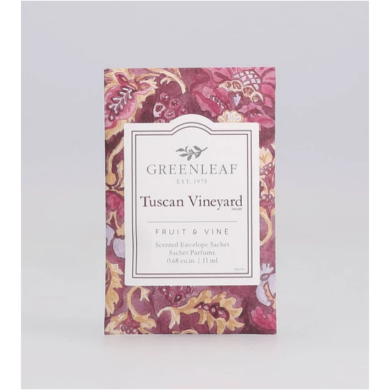 Tuscan Vineyard Mini Sachet