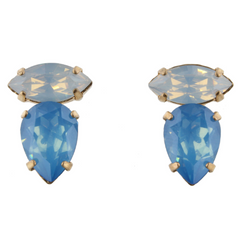 Jane Marie Opal and Blue Studs