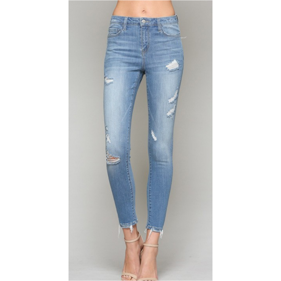 Maxwell Distressed Skinnies