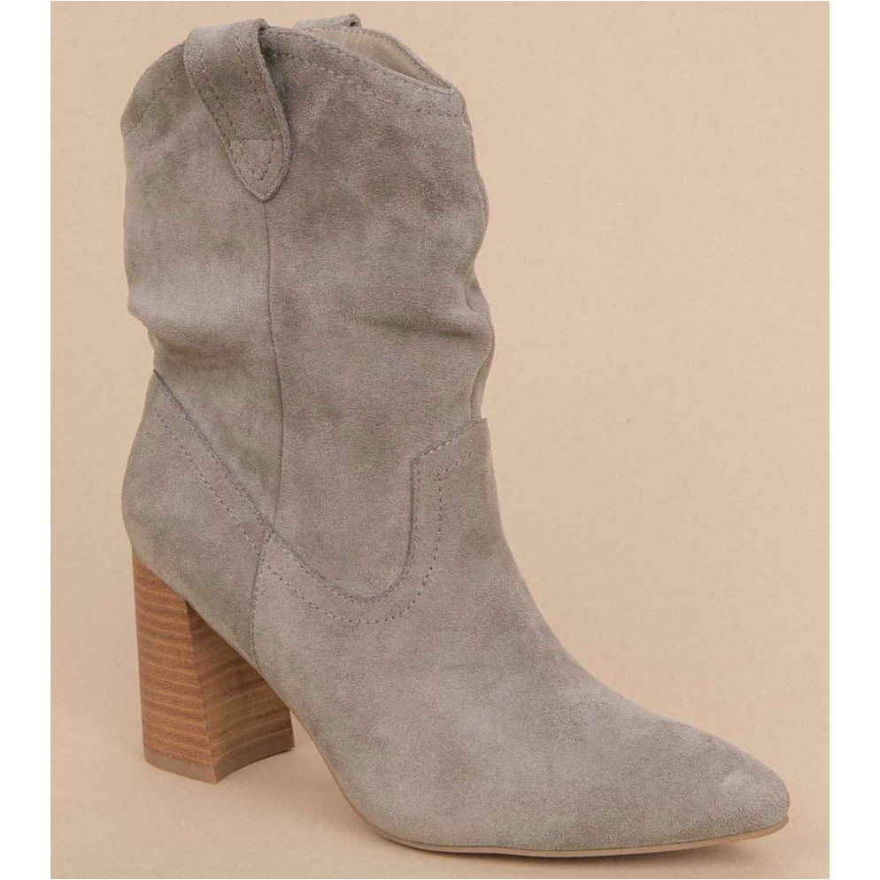Mavis Boot in Grey