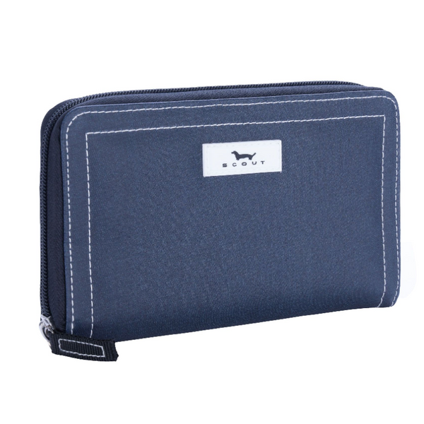 Scout Blake Wallet in Denim