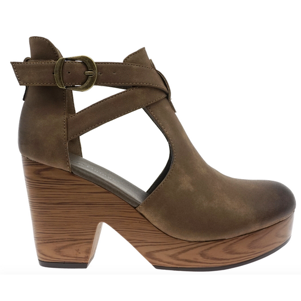 Bailey Platforms in Taupe