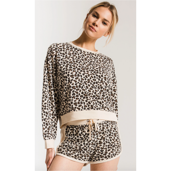 Z Supply The Brushed Leopard Short