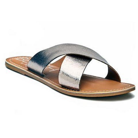 Savannah Sandals in Silver