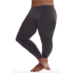 Curvy Bird Leggings in Charcoal