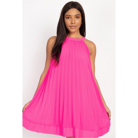 Pleated Perfect Dress