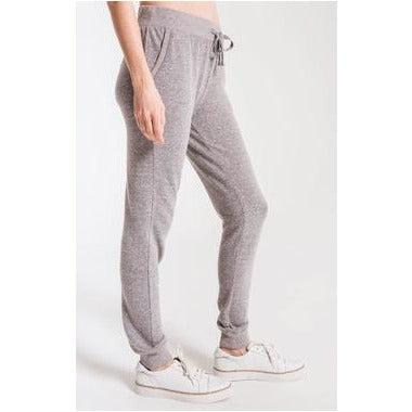 Z Supply Triblend Courier Jogger in Heather Grey
