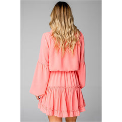 Buddy Love Zozo Dress in Coral