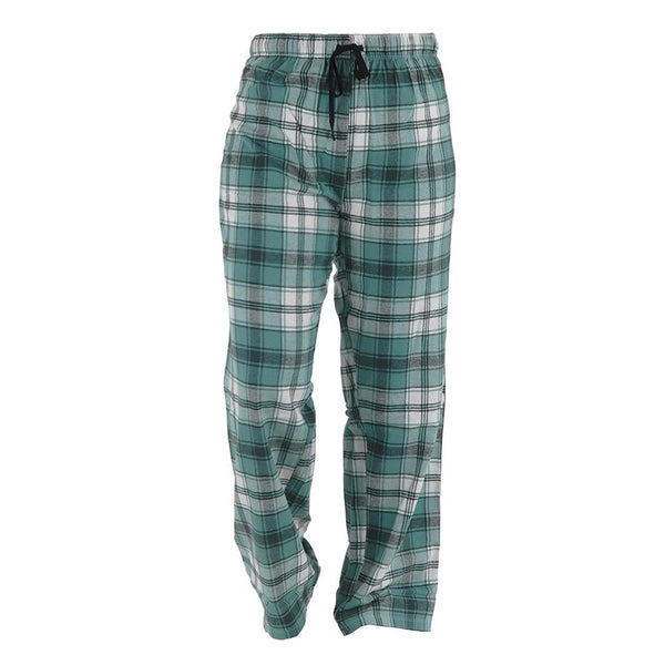Plaid Drawstring Lounge Pants