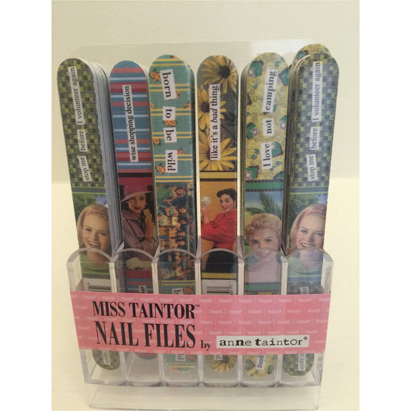Anne Taintor Nail Files - A Little Bird Boutique